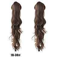 새로운 패션 여자 곱슬 머리 클로 클립 말꼬리 1B-30 # 색상