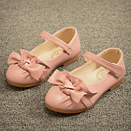 Girls' Shoes Dress/Casual Mary Jane/Comfort Leatherette Flats Blue/Pink/Red