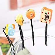 Cute Series Of Hair Clips(Set Of 6)(Random Distribution)