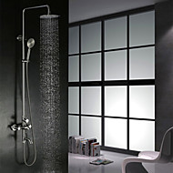 304 Stainless Steel Wall-Mounted Rain-Style Rainfall Bath&Tub Shower Faucet Mixer Tap