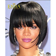 Classical Straight Black Wig Hot Sale Popular Synthetic Bob Wig Cheap Wig