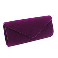 Women Event/Party Suede Clasp Lock Evening Bag
