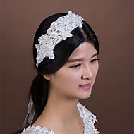 Women's Lace / Rhinestone / Crystal / Imitation Pearl Headpiece-Wedding / Special Occasion Headbands 1 Piece