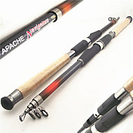 Telespin Rod / Fishing Rod Telespin Rod Aluminium / Fibre Glass / Wood / Carbon 240,270,300,360 MSea Fishing / Bait Casting / Spinning /
