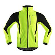 Arsuxeo Jachetă Cycling Pentru bărbați Bicicletă Jachetă Jachete de Lână TopuriRespirabil Keep Warm Rezistent la Vânt Design Anatomic