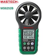 Mastech-ms6252b- ammatillinen ilmavirtausmittari - lämpötilan ja kosteuden testi -USB liitäntä ja ohjelmisto