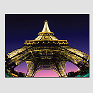 Eiffel Tower Canvas Prints , Canvas Material with Stretched Frame Ready To Hang SIZE:60*40CM.