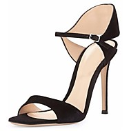 Women's Shoes Leatherette Stiletto Heel Open Toe Sandals Office & Career/Party & Evening/Dress More Colors Available