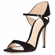 נעלי נשים - סנדלים - דמוי עור - פתוח - שחור / כחול / ירוק / סגול / אדום / לבן - משרד ועבודה / שמלה / מסיבה וערב - עקב סטילטו