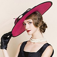 Women's Flax Headpiece - Wedding / Special Occasion / Casual / Outdoor Hats 1 Piece