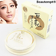 lideal®soybean valkaisuun meikki 4in1 puuterit kakku / peitevoide / säätiö / aurinkopuuteri (puuterihuisku vuonna, lajitelma 3 väriä)