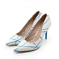 Несколько цветов - Женская обувь - Для офиса - Дерматин - На шпильке - На каблуках / С острым носком - Обувь на каблуках