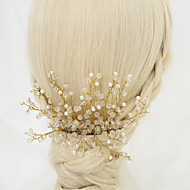 Women's/Flower Girl's Crystal/Alloy/Imitation Pearl Headpiece - Wedding/Special Occasion Hair Combs 1 Piece