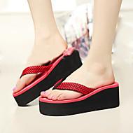 Γυναικεία παπούτσια - Παντόφλες - Ύπαιθρος - Επίπεδο Τακούνι - Σαγιονάρες - PVC - Μπλε / Κίτρινο / Πράσινο / Κόκκινο