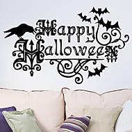 halloween Wandaufkleber Kunst-Abziehbild-Halloween-Dekoration