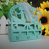 50 Piece/Set Favor Holder - New Laser Cut Wedding  Candy Box/ Pearl Paper Favor Boxes / Gift Boxes Personalized