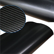 """LORCOO™ SimCarbon 3D Carbon Fiber Vinyl Film Wrap  12"""" x 50"""" Sheet(Free Gift Edge Squeegee and Knife)"""