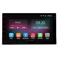 "7"" In-Dash 1024*600 Full Touch Panel Car Multimedia Player for Universal 2 Din Quad Core 2G RAM+16GB ROM Android 4.4 GPS"