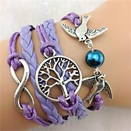 Lederen armbanden Uniek ontwerp Modieus leuke Style Sieraden Sieraden Voor Feest Kerstcadeaus 1 stuks