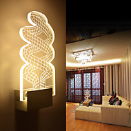Acrylic Wall Lamp PVC Lamp Light Chip LED / Bulb Included Modern/Contemporary Metal 220V  5㎡-10㎡  L12.3**H26*W5CM  5W