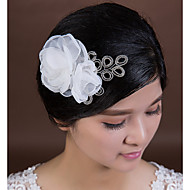 Fleurs Casque Mariage / Occasion spéciale Cristal / Tulle Femme Mariage / Occasion spéciale 1 Pièce