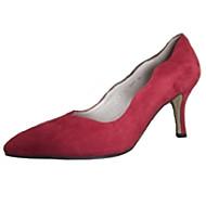 Women's Wedding Shoes Heels Heels Wedding / Party & Evening / Dress Red