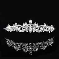 Celada Tiaras / Bandas de cabeza Boda / Ocasión especial Rhinestone Mujer / Niña de flor Boda / Ocasión especial 1 Pieza