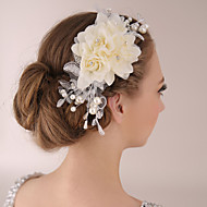Dame Blonde Medaljon-Bryllup Blomster 1 Stykke
