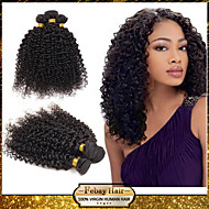 Febay Hair Indian Virgin Hair Kinky Curly 12 14 16 18 20 22 24 26 28 30 Inch 1pcs/lot 100g/pcs