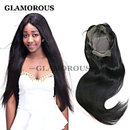 In Stock 10~30inch Silky Straight Weave Natural Color Brazilian Virgin Hair Full Lace Wig