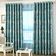 Two Panels Kids Room Cartoon Blackout Curtains