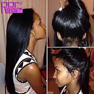 frente peinado populares de encaje italiano yaki cabello humano pelucas brasileñas virginales pelucas rectas yaki del pelo humano