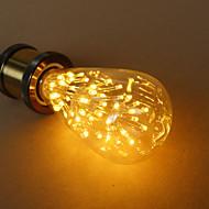 הנורה אדיסון כוכב st64 3W E27 מקור אור דקורטיבי