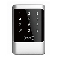 Waterproof Metal Shell MF1/EM Card One Door Access Control with Touch Keypad