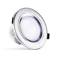 3 watty 250lm teplá / přírodní / studená bílá barevná změna vedla zapuštěný kulatý svítidlo stropní svítidlo (220)