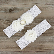 Bowknot Bride Garter Wedding Decoration