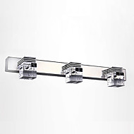 Crystal / LED / Mini Style Bathroom Lighting,Modern/Contemporary LED Integrated Metal