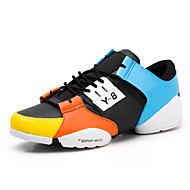Men's Shoes Outdoor / Office & Career / Athletic / Casual Fashion Sneakers Black / Yellow / Gold