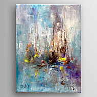 Hand Painted Oil Painting Abstract Painting   with Stretched Framed Ready to Hang