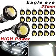 20 x coche 9w blanco 23mm ojo de águila motor llevó bombillas de copia de seguridad de la cola drl de circulación diurna