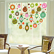 Christmas Window Sticker Contemporary , Art Deco 60m*60cm