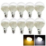 YouOKLight® 10PCS E27 15W 24*SMD5630 1000LM 3000/6000K Warm White/Cool White Light  LED Globe Bulbs (AC 220V)