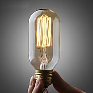 Umei ™ 110v ou 220v edison ST45 lâmpada / retro lâmpada de Edison filamento da lâmpada / cobre e26 e27 40w bulbo