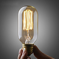 umei ™ 110V nebo 220V Edison ST45 žárovka / retro Edison žárovku žárovka / měď e26 e27 žárovka 40 wattů
