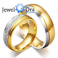 Prstenje Moda Party Jewelry Platinum Plated / Čelik Žene Klasično prstenje 1pc,Univerzalna veličina Zlatna