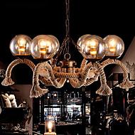 5-15W Tiffany / Vintage Stile Mini Pittura Metallo Lampadari Salotto / Sala da pranzo / Cucina / Sala studio/Ufficio / Stanza dei giochi