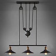 Max 60W 펜던트 조명 ,  빈티지 페인팅 특색 for LED / 미니 스타일 금속 거실 / 침실 / 주방 / 학습 방 / 사무실