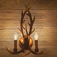 Chandeliers muraux Style mini / Ampoule incluse Traditionnel/Classique Résine