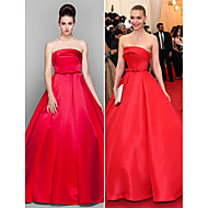 TS Couture Formal Evening / Prom / Military Ball Dress - Ruby Plus Sizes / Petite Ball Gown Strapless Floor-length Satin