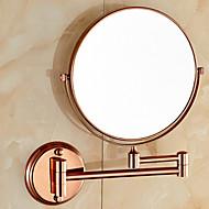 Tükör / Fürdőszobai kütyü , Neoklasszikus Vörös arany Falra rögzített
